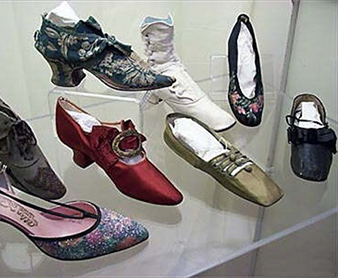 Haverhill Made or Worn Shoes Haverhill made or worn shoes from the Society's collection, circa 1760-1960.